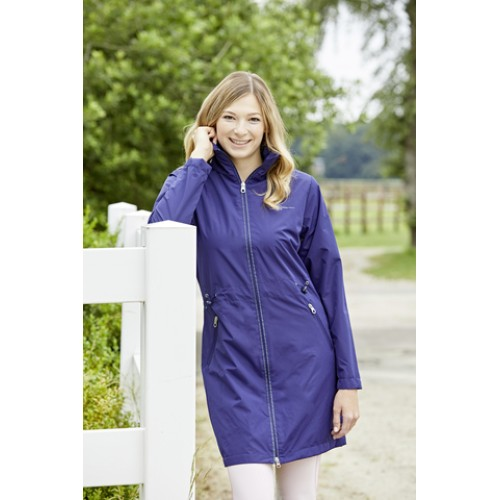 Covalliero IIaria Ladies Long Jacket Dark Blue